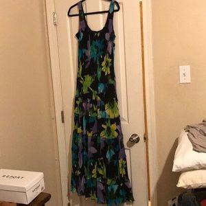 Floral , Tank Maxi Dress 🌸🌸